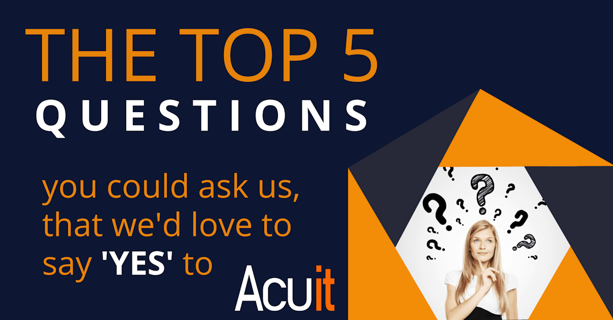 5 most asked questions by new clients