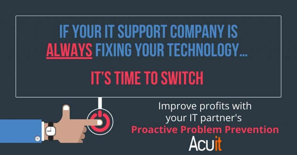 How You Can Proactively Prevent IT Problems