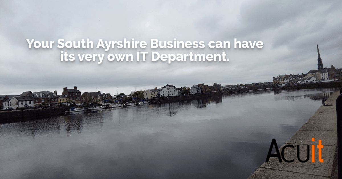 South Ayrshire IT Support