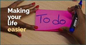 To Do makes your life easier