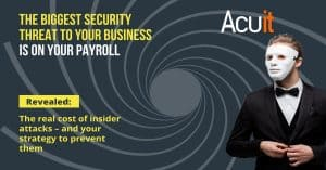 biggest security threat to your business