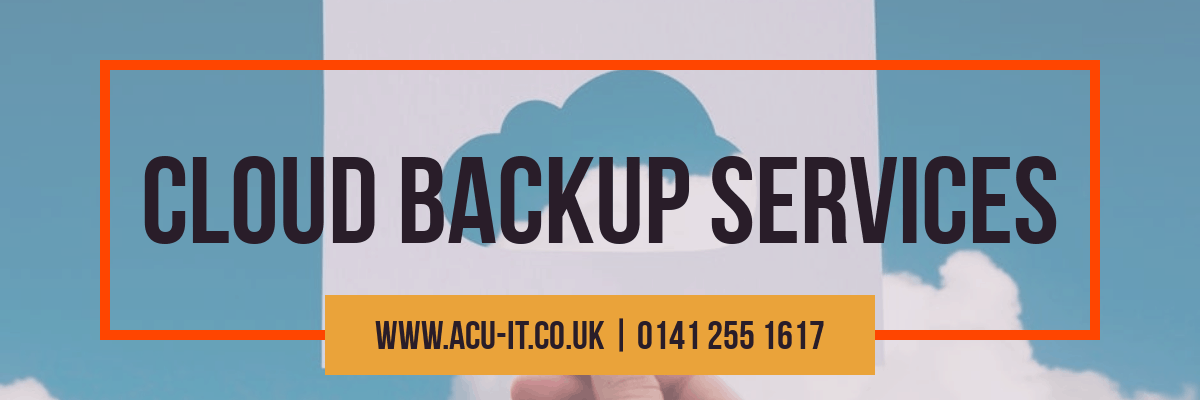 cloud backup in glasgow