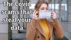 covid scams that steal your data