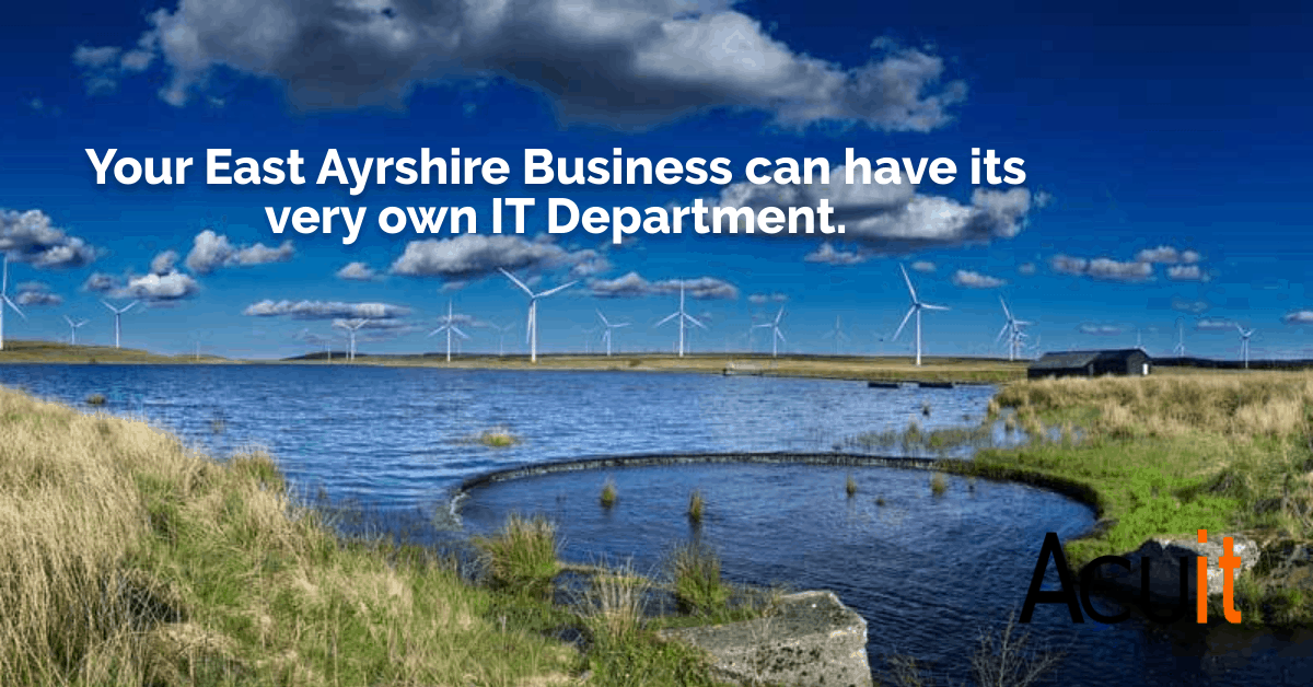 east ayrshire it support