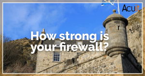 How strong is your firewall