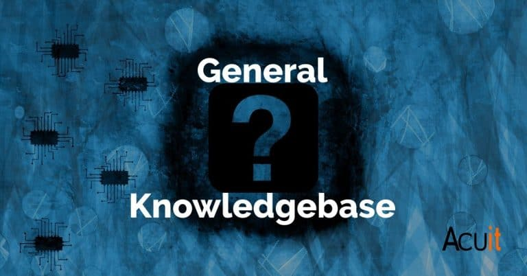 General IT KB