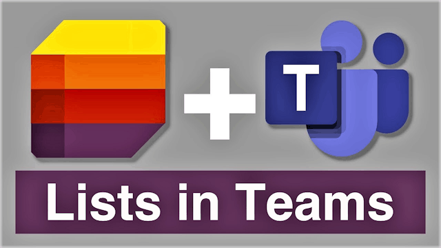 Lists: Making collaboration easier 1