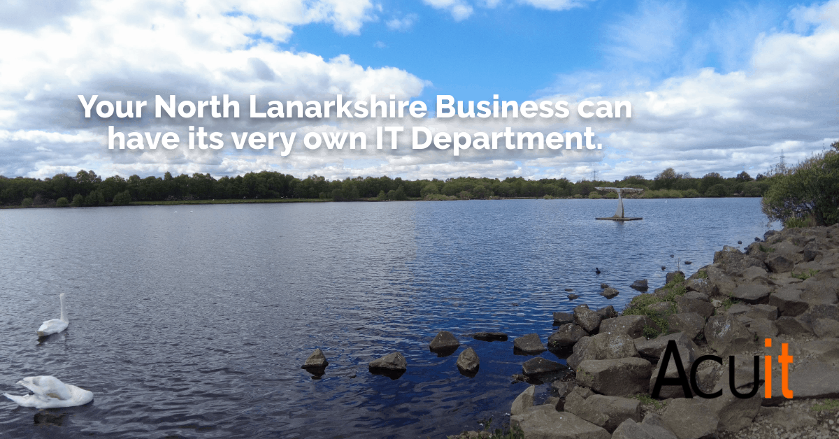 North Lanarkshire it support