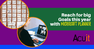 Reachj for big goals this year with Microsoft Planner