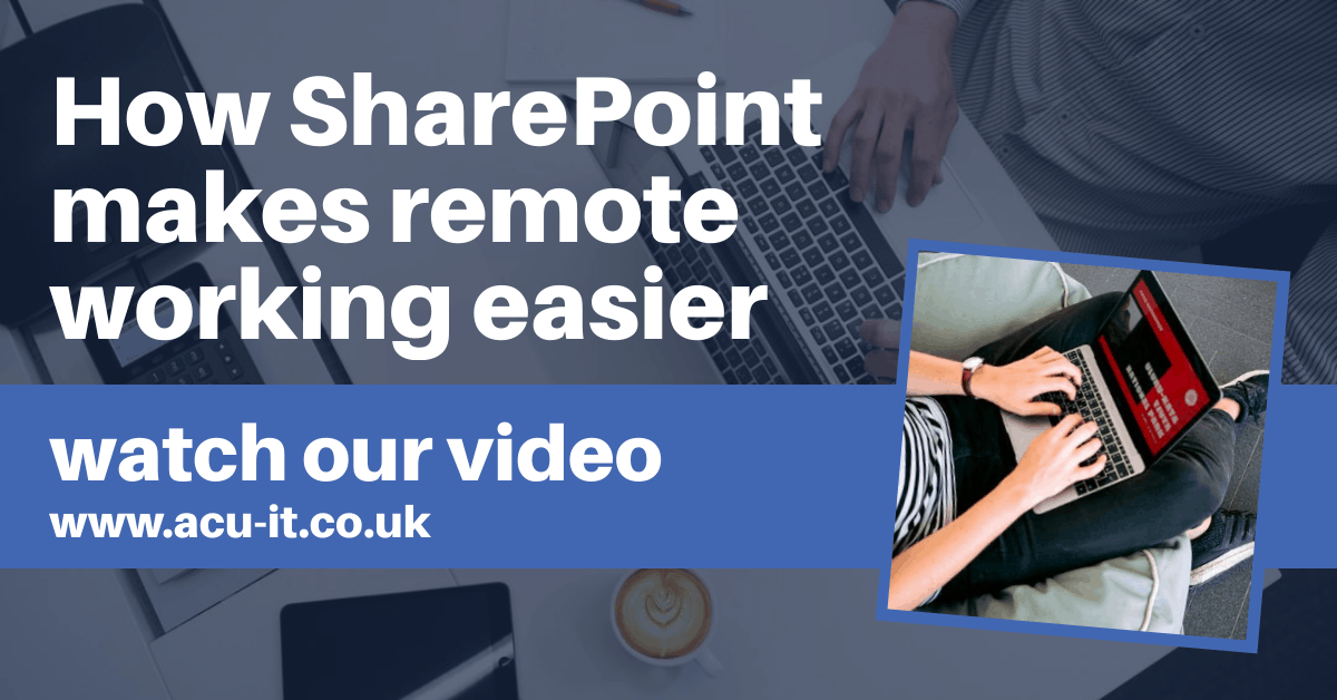 How SharePoint makes remote working easier