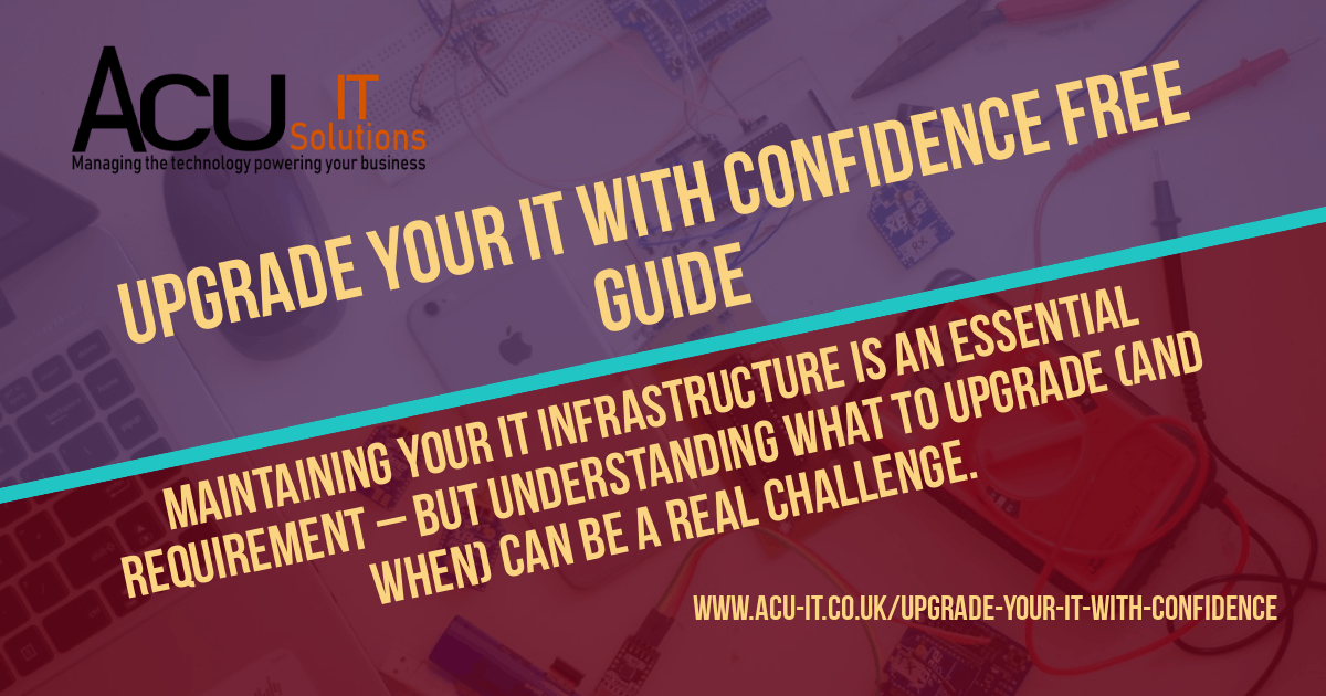 upgrade your IT with confidence