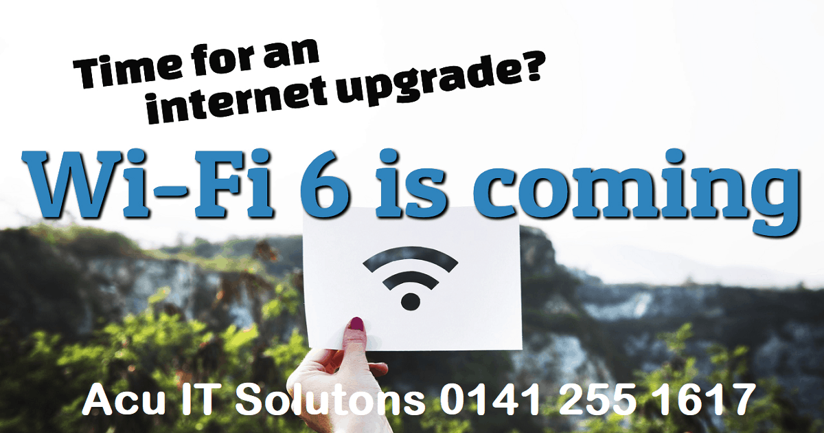 wifi 6 is coming to glasgow